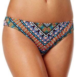 NWT Bar III Ruched Back Cheeky Bikini Bottom